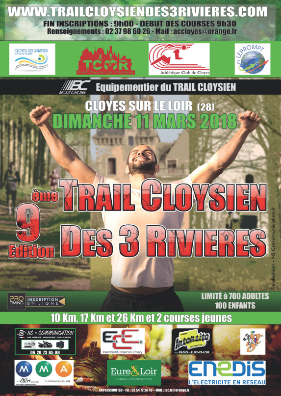 Affiche officielle TC3R 2018